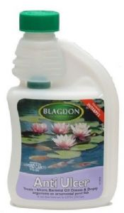 Blagdon Pond Anti Ulcer Treatment 1000ml Interpet Fish